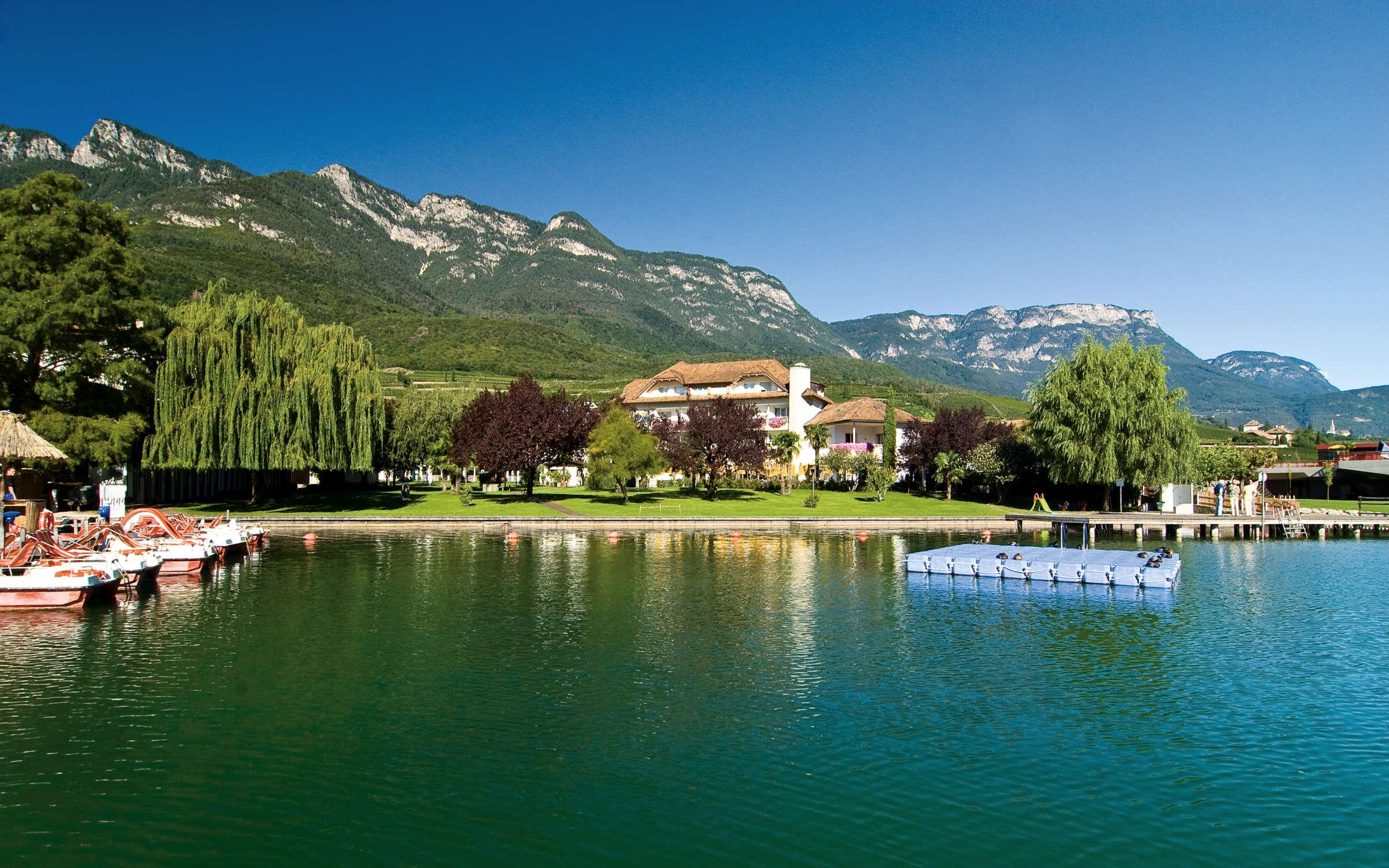 Kalterer See in Südtirol, Urlaub und Hotel am …